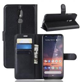 Book Case Nokia 3.2 Hoesje - Zwart