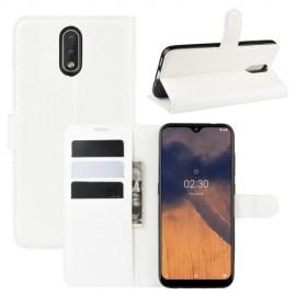 Book Case Nokia 2.3 Hoesje - Wit
