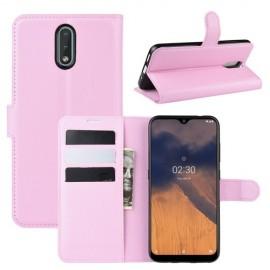 Book Case Nokia 2.3 Hoesje - Pink