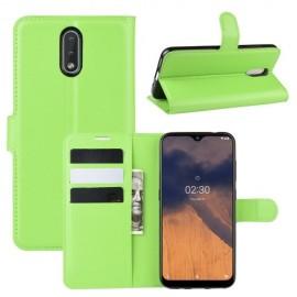 Book Case Nokia 2.3 Hoesje - Groen