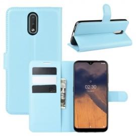 Book Case Nokia 2.3 Hoesje - Lichtblauw