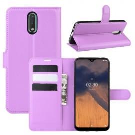 Book Case Nokia 2.3 Hoesje - Paars