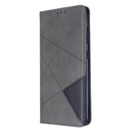 Geometric Book Case Samsung Galaxy A51 Hoesje - Grijs