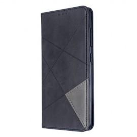 Geometric Book Case Samsung Galaxy A51 Hoesje - Zwart