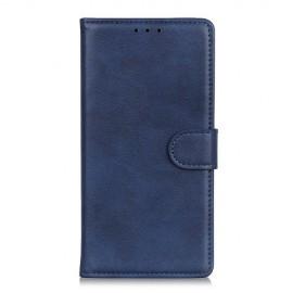 Luxe Book Case Samsung Galaxy A71 Hoesje - Blauw