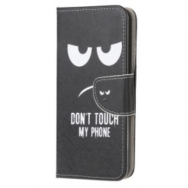 Book Case Samsung Galaxy A71 Hoesje - Don't Touch