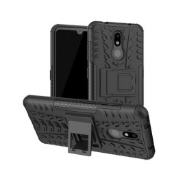 Rugged Kickstand Nokia 3.2 Hoesje - Zwart