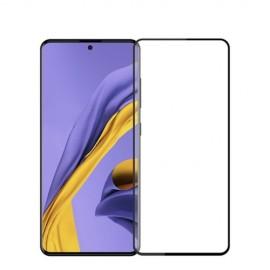 Full-Cover Tempered Glass Samsung Galaxy A71 - Zwart