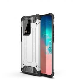 Armor Hybrid Samsung Galaxy S20 Ultra Hoesje - Zilver