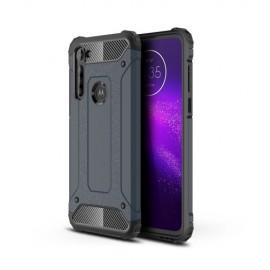 Armor Hybrid Motorola Moto G8 Power Hoesje - Donkerblauw
