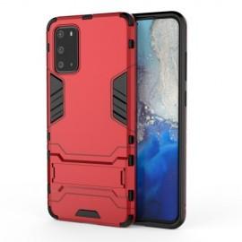 Armor Kickstand Samsung Galaxy S20 Ultra Hoesje - Rood