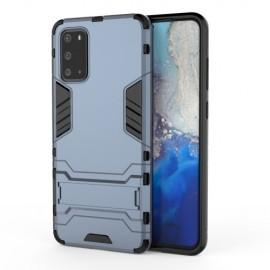 Armor Kickstand Samsung Galaxy S20 Ultra Hoesje - Donkerblauw