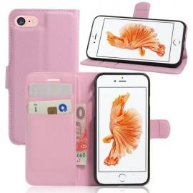 Book Case iPhone 8 / 7 Hoesje - Pink