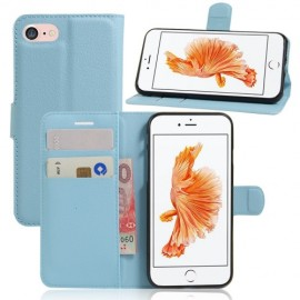 Book Case iPhone 8 / 7 Hoesje - Lichtblauw