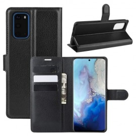 Book Case Samsung Galaxy S20 Hoesje - Zwart