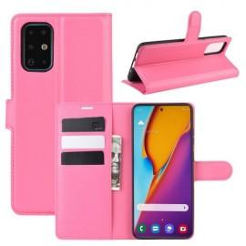 Book Case Samsung Galaxy S20 Plus Hoesje - Roze