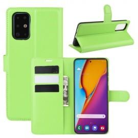 Book Case Samsung Galaxy S20 Plus Hoesje - Groen