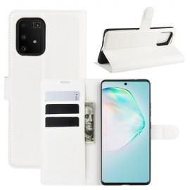 Book Case Samsung Galaxy S10 Lite Hoesje - Wit
