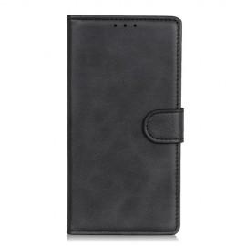 Luxe Book Case Samsung Galaxy S20 Ultra Hoesje - Zwart