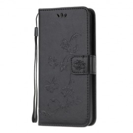 Vlinder Book Case Samsung Galaxy S20 Plus Hoesje - Zwart