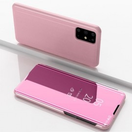 Mirror View Case Samsung Galaxy S20 Plus Hoesje - Rose Gold