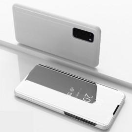 Mirror View Case Samsung Galaxy S20 Hoesje - Zilver