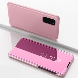 Mirror View Case Samsung Galaxy S20 Hoesje - Rose Gold