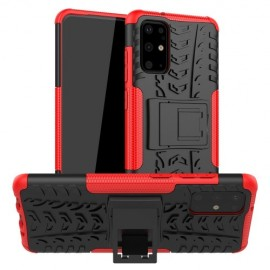 Rugged Kickstand Samsung Galaxy S20 Plus Hoesje - Rood