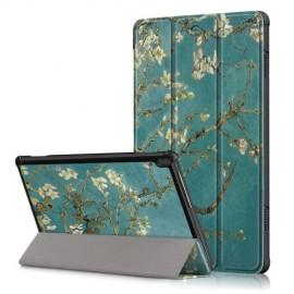 Tri-Fold Book Case Lenovo Tab M10 Hoesje - Bloesem