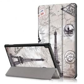 Tri-Fold Book Case Lenovo Tab M10 Hoesje - Eiffeltoren