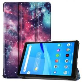 Tri-Fold Book Case Lenovo Tab M8 Hoesje - Galaxy