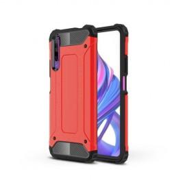 Armor Hybrid Huawei P Smart Pro Hoesje - Rood