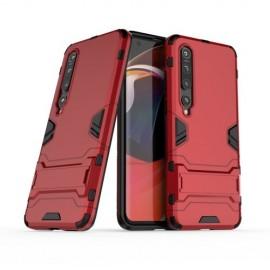 Armor Kickstand Xiaomi Mi 10 (Pro) Hoesje - Rood