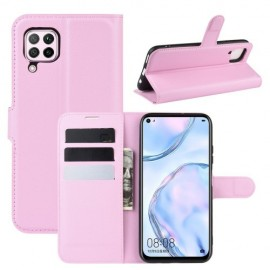 Book Case Huawei P40 Lite Hoesje - Pink