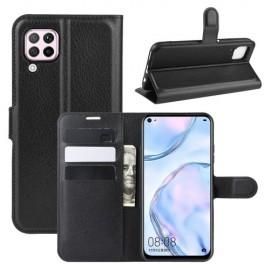 Book Case Huawei P40 Lite Hoesje - Zwart