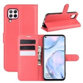 Book Case Huawei P40 Lite Hoesje - Rood