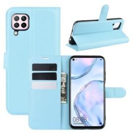 Book Case Huawei P40 Lite Hoesje - Lichtblauw