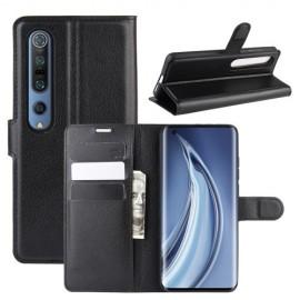 Book Case Xiaomi Mi 10 (Pro) Hoesje - Zwart