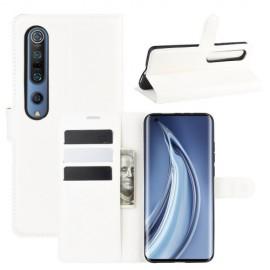 Book Case Xiaomi Mi 10 (Pro) Hoesje - Wit