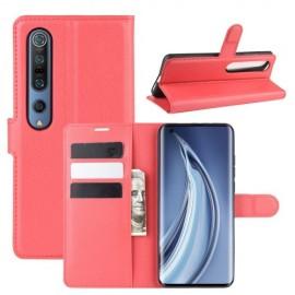 Book Case Xiaomi Mi 10 (Pro) Hoesje - Rood