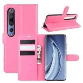 Book Case Xiaomi Mi 10 (Pro) Hoesje - Roze