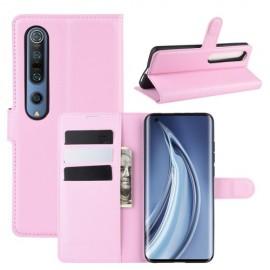 Book Case Xiaomi Mi 10 (Pro) Hoesje - Pink