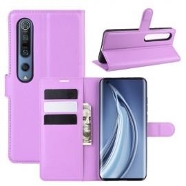 Book Case Xiaomi Mi 10 (Pro) Hoesje - Paars