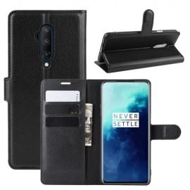 Book Case OnePlus 7T Pro Hoesje - Zwart