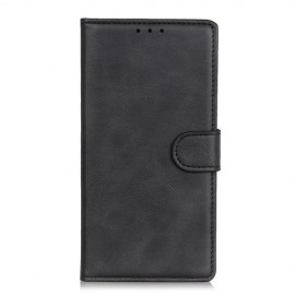 Luxe Book Case Samsung Galaxy Xcover Pro Hoesje - Zwart