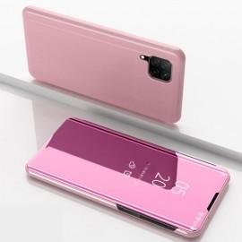 Mirror View Case Huawei P40 Lite Hoesje - Rose Gold
