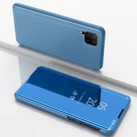 Mirror View Case Huawei P40 Lite Hoesje - Lichtblauw