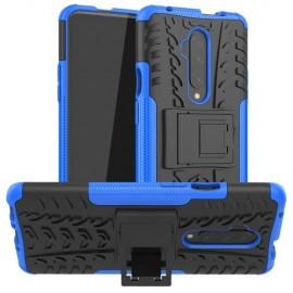 Rugged Kickstand OnePlus 7T Pro Hoesje - Blauw