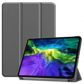 Tri-Fold Book Case iPad Pro 11 (2020) Hoesje - Grijs