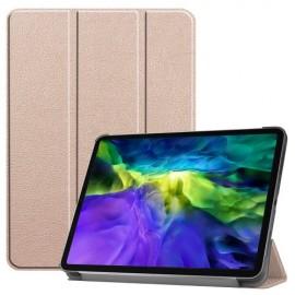 Tri-Fold Book Case iPad Pro 11 (2020) Hoesje - Goud